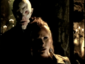 The Master stalks Buffy.